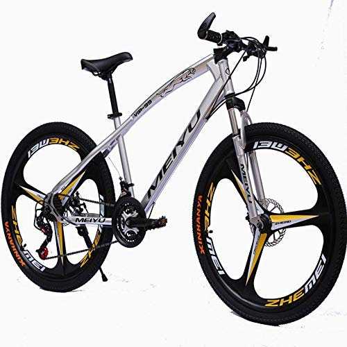 YXWJ 26 Pulgadas de Bicicletas de montaña 21 24 27Speeds Shimano Tren de Bicicleta de Carretera for Hombres y Mujeres Aluminio de la Bicicleta Bicicleta de Carreras de Ciclo al Aire