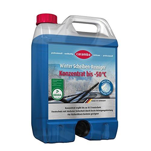 CARAMBA 618550 Winter Scheiben-Reiniger Konzentrat bis-50°, 5 Liter, Made in Germany