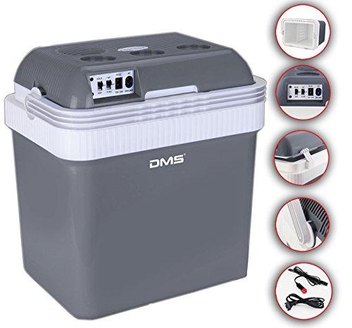 DMS thermoelektrische Kühltasche 25 L | Gefriertasche | Getränkebox | Kühl- und Warmhaltefunktion | Auto und LKW | Camping | 12-24 V