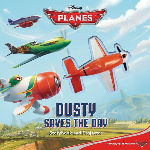 Dusty Saves the Day!: Storybook and Projector (Movie Theater)