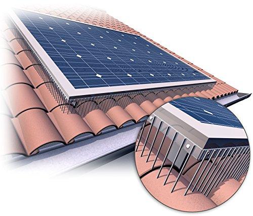 Taubenabwehr für Solaranlagen,Solarmodule,Photovoltaikanlagen 500x150 mm Profiware von Powerpreis24de