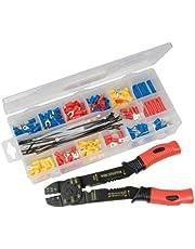 Silverline 457054 Crimping Tool Set - 271 Stukken, Verschillende kleuren