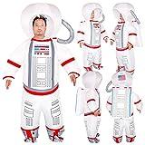 bowlder Weltall Kostüm Christmas Pilot Inflatable Suit Aufblasbarer Astronautenanzug Partyzubehör...