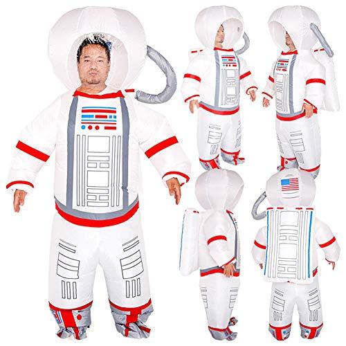 Disfraz Hinchable De Astronauta para Adultos Y Niños, Artículos De Fiesta, Disfraz De Astronauta Disfraz para Ropa Divertida Fiesta De Disfraces De Disfraces, 150-190 Cm