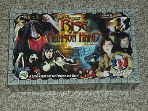 Desconocido Fortune and Glory: Rise of The Crimson Hand - Juego de Dados, para 6 Jugadores (Flying Frog Productions FFP0503) (versión en inglés)