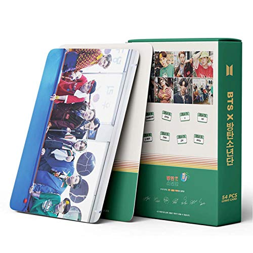 AMZYY BTS Lomo Cards BTS Map of The Soul 7 Card Nuevo álbum Card BANTAN Boys BTS...