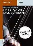 Set Physik für das Lehramt (De Gruyter Studium)