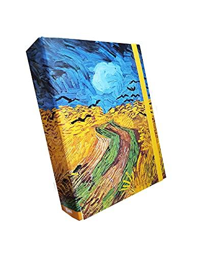 Portaprogetti KAOS Dorso 7 'Campo di Grano' - Van Gogh
