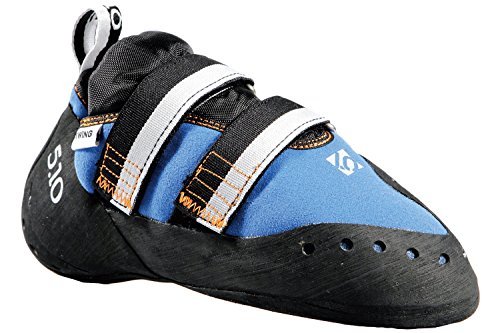Five Ten Men's Blackwing Climbing Shoe,Blue/Orange,5.5 M US