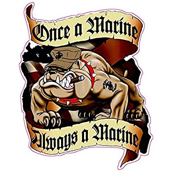 amazon com marines devil dog decal 5 from the united states automotive amazon com marines devil dog decal 5