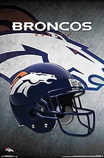 Trends International NFL Denver Broncos - Helmet Wall Poster, 22.375