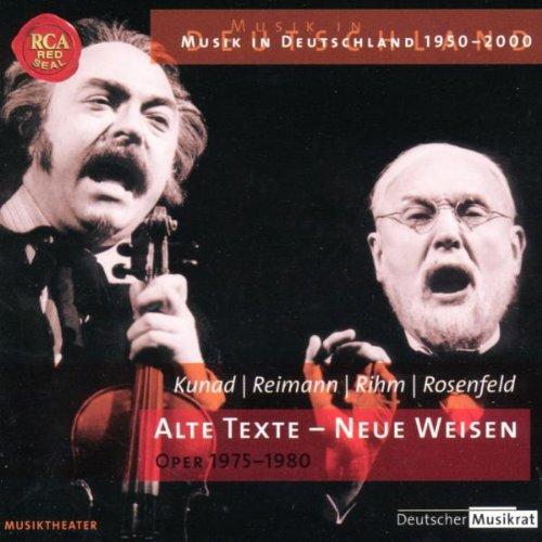 Oper, Operette, Musical - Alte Texte - Neue Weisen
