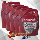 CEPSA Genuine 20W50 5X5L(25Litros)
