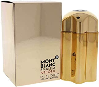 Mont Blanc Perfume - Mont Blanc Emblem Absolu - perfume for men - Eau de Toilette, 100ml