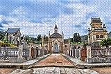 NHJUIJ 1000 Piezas Puzzles Piezas Jigsaw Puzzle Casco Antiguo de Chiang MAI, Tailandia Miniatura diypara Adultos decoración Rompecabezas educativos