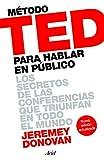 Método TED para hablar en público, de Jeremey Donovan