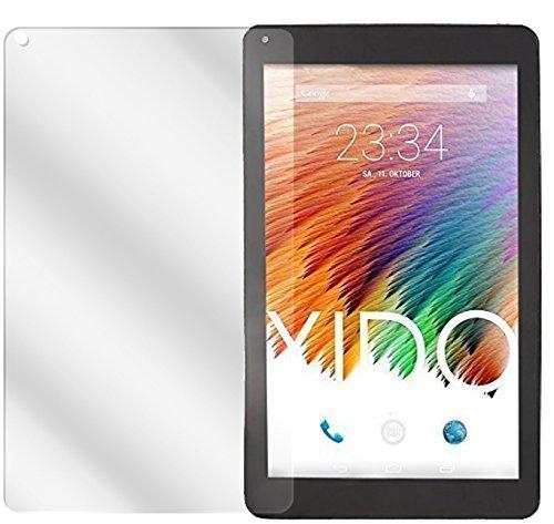 dipos I 2X Schutzfolie klar kompatibel mit XIDO Tablet X111 Folie Bildschirmschutzfolie