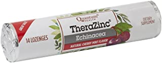 Quantum Health TheraZinc Echinacea Roll, Cherry Mint Lozenges, Made with Zinc Gluconate Immune Support, 14 Lozenges (Pack ...