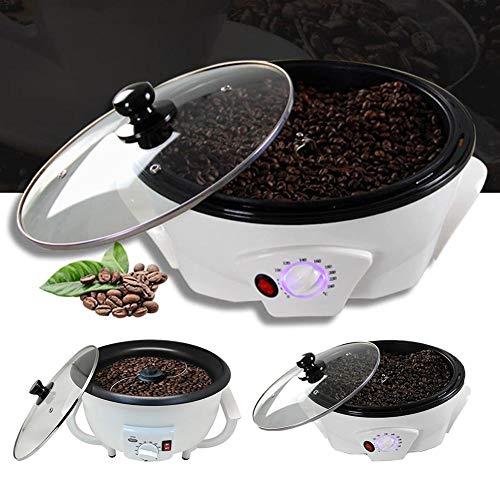 kaffeeröster für Zuhause Bohnen kaffeebohnen Klein Weiß Röstmaschine 220 V Rührmaschine Kaffeebohnen-Bäcker