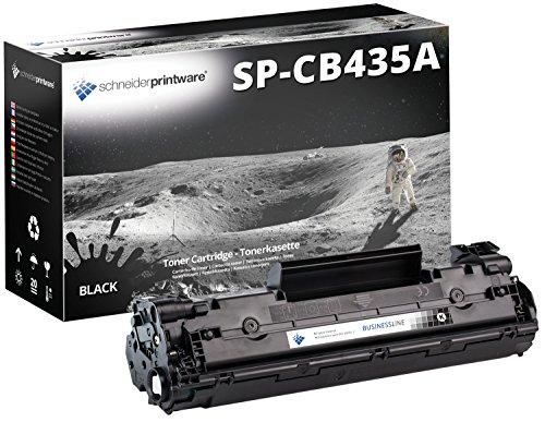 Schneider Printware kompatibler Toner |100% mehr Druckleistung | als Ersatz für CB435A für HP LaserJet M1522NF MFP P1005 P1006 P1009 P1102 P1102W P1505 Pro M1132 , Canon LBP 3100 LBP 6020 LBP6020