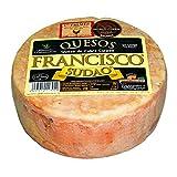 Queso de Cabra Sudao Extremeño - Producto Artesano Maduración 3 a 4 Meses Peso Aproximado 800 - 850 gramos - Elaborado con leche pasteurizada de Cabra - Queso Completo
