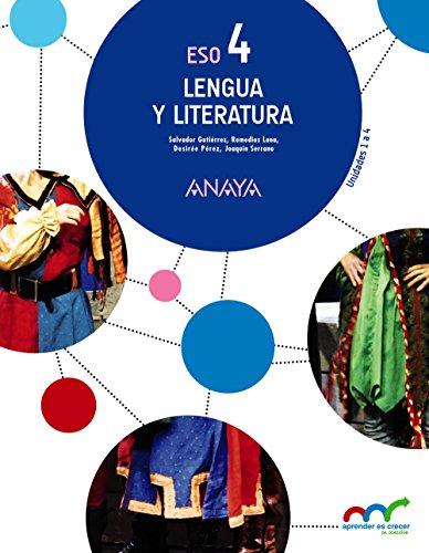 Lengua y Literatura 4 (Trimestres) (Aprender es crecer en conexión)