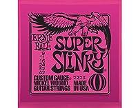 【3セット】ERNIE BALL/アーニーボール 2223[09-42] SUPER SLINKY エレキギター弦