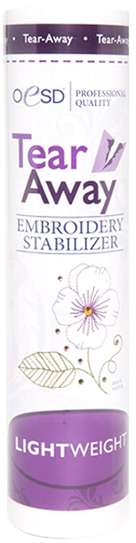 OESD Light Weight Tear-Away Embroidery Stabilizer 1.5oz 10