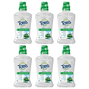 Tom's of Maine Children's Anticavity Fluoride Rinse Mouthwash