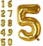 Ballons gonflables XXL pour Anniversaires – Ballons à Chiffres de 0 à 9 de #discoverhome