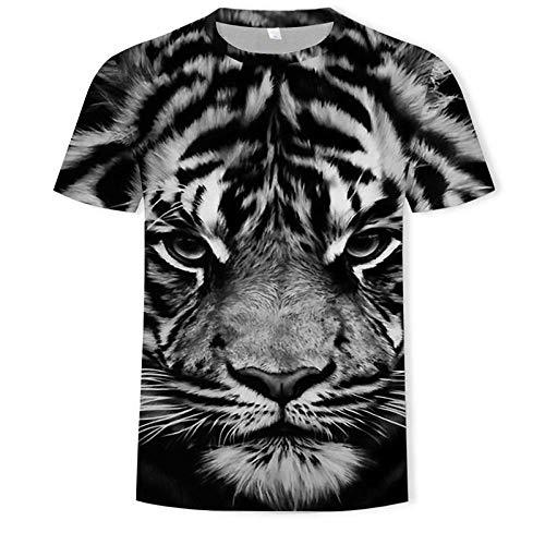 ZIXIYAWEI 3D Camisetas para Hombre Camisetas De Hombre Camiseta De...