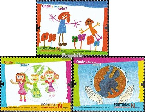 Portugal mer.-no.: 3242-3244 (complète.Edition.) 2007 Dessins d'enfants (Timbres pour Les collectionneurs)