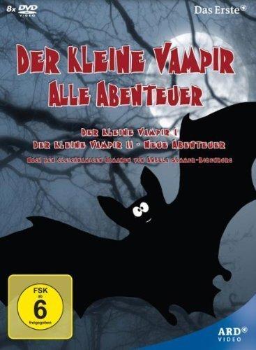 The Little Vampire / The Little Vampire - New Adventures - 8-DVD Box Set ( Der kleine Vampir / Der kleine Vampir - Neue Abenteuer ) by Michael Gough