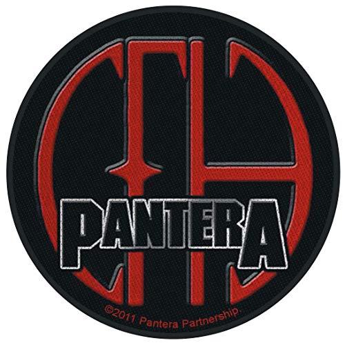 PANTERA CFH Unisex Patch Standard 100% Polyester Undefiniert Band-Merch, Bands