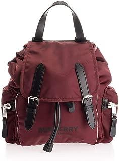 Luxury Fashion | Burberry Womens 8021262 Purple Backpack | Fall Winter 19