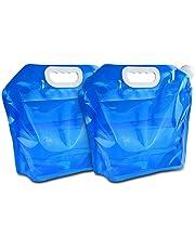 ウォーターバッグ 給水袋 アウトドアアクセサリー 非常用 貯水 ハイドレーションバッグ折りたたみ式 携帯便利 5L/10L/12L 避難 運動 アウトドア用