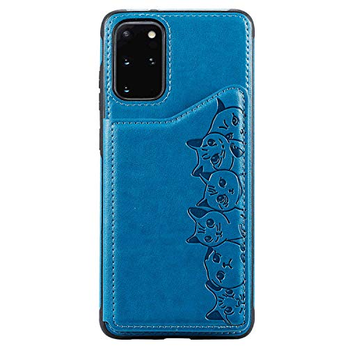 Flip Case Fit for Samsung Galaxy Note 10 Plus, Card Holders Kickstand Extra-Durable Leather Cover Wallet for Samsung Galaxy Note 10 Plus