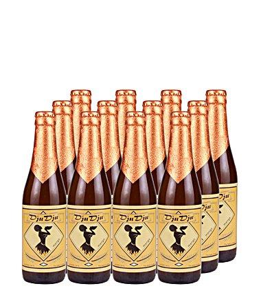 DjuDju Mango-Bier Vorteilspaket 12 Flaschen