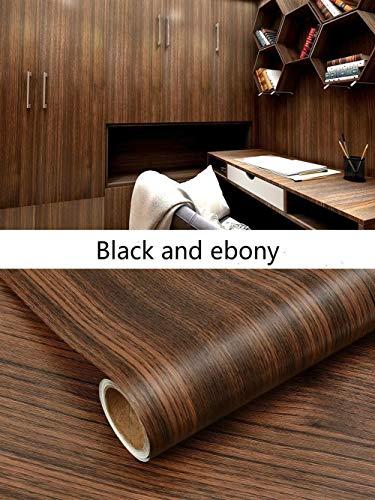 Behang PVC hout graan behang voor Keuken Films gereviseerde kleding kast kast deur meubels voor plaat kantoor Decor muur sticker behang pasta 60cmX1m 5