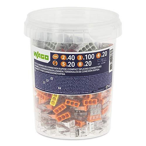 WAGO – Pot de 200 bornes de connexion automatique S2273 2,3,4,5, et 8 entrées