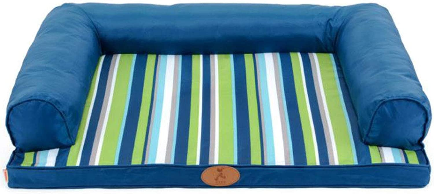 Dog Bed Cat Bed Pet Bed Fully Detachable and Washable Kennel Cat Mat Large Dog Waterproof (color   C, Size   XS)
