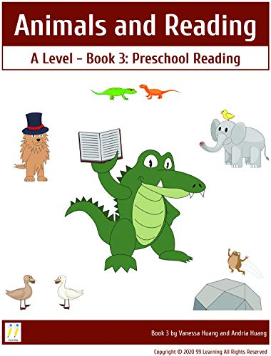 Animals and Reading: A Level Book 3 Preschool Reading (Animals and Reading A Level) (English Edition)