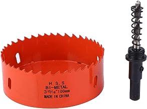 iFCOW Bimetaal Gatenopener M42 Bi-Metaal Gatenzaag Metalen Blad Gatensnijder Gatenzaag Snijmachine (100mm)