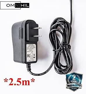 OMNIHIL 8 Feet Long AC//DC Adapter Compatible with D-Link DIR-866L UL Listed DIR-868L DIR-850L DIR-820L Router Power Supply Cord Cable PS DGL-5500 DIR-860L