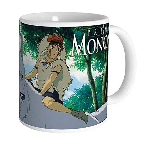 Prinzessin Mononoke - Studio Ghibli - Taza de cerámica premium - San & Moro - Caja de regalo
