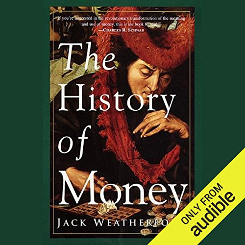 The History of Money audiobook cover art