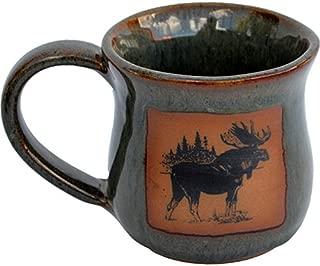 Moose Mug in Seamist Glaze
