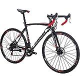 Eurobike Bikes HYXC550 54CM 700C Regular Spoke Wheels 21 Speed...