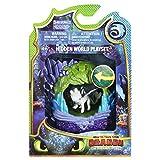 Cómo Entrenar a tu Dragón Playset Cueva de Dragón Furia Luminosa (BIZAK 61926624)