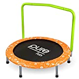 Pure Fun 36-Inch Kids Bungee Trampoline with Handrail